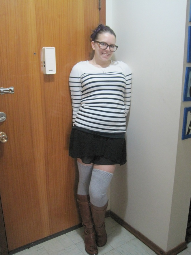 student style, short skirt, my old blog posts