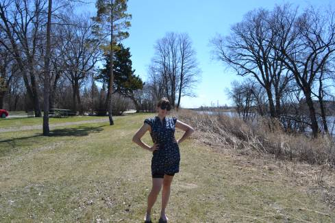 Floral Dress & Shorts