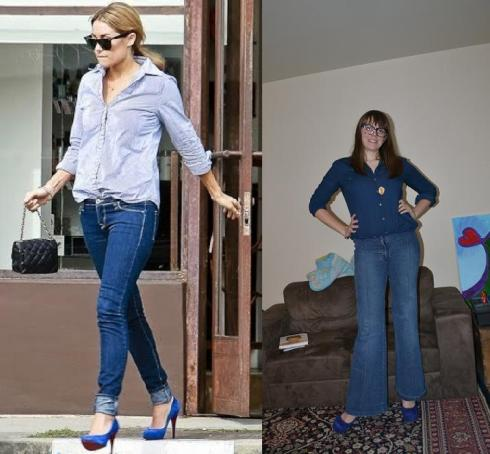 Style Challenge: LC's Canadian Tuxedo