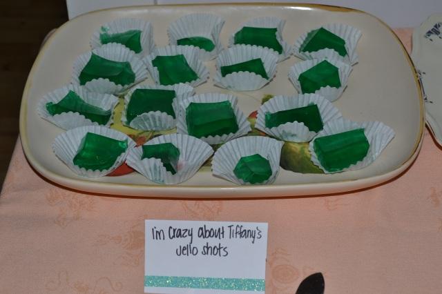Breakfast at Tiffany's goodies