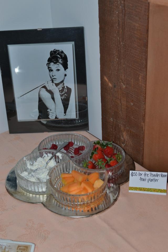 Breakfast at Tiffany's fruit