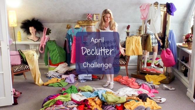 April Declutter Challenge