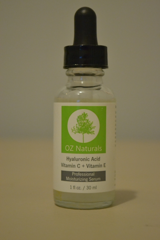 OZ Naturals Hyaluronic Acid Victamin C + Vitamin E Professional Moisturizing Serum