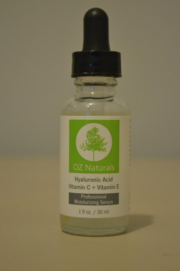 OZ Naturals Hyaluronic Acid Victamin C + Vitamin E Professional Moisturizing Serum