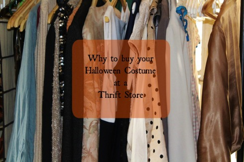 Why to buy your Halloween Costume at a Thrift Store