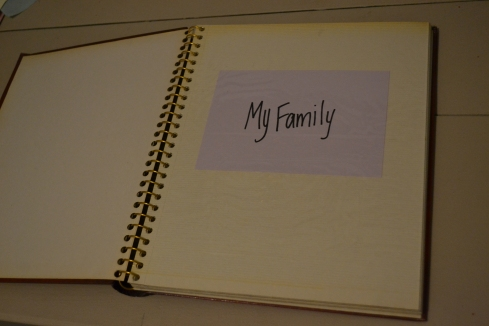DIY My Family Book for toddlers